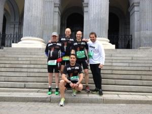 Foto de grupo previa a la carrera