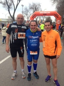 I Carrera popular 10k Ciudad de Parla. Segunda posición de Raul Granjo (6/6)