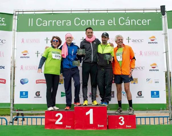 javier adrian carrera cancer podium trisport